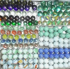 """COLLECTORS LARGE SHOOTER MARBLES 1"""" 25mm  ASSORTED COLOURS * YOU CHOOSE COLOURS"""