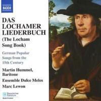 Various Composers : Das Lochamer Liederbuch (Lewon, Hummel) CD (2007) ***NEW***