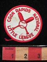 Minnesota Patch Coon Rapids National Little League Baseball Crossed Bats 65E7