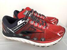 Mens BROOKS TRANSCEND 2 Red Black Sneakers US 11 #17177