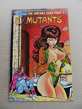 Ex- Mutants 5 . The Shattered Earth ...Eternity 1988 - VF - minus