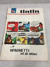 TINTIN  N°916 18e ANNEE  19 MAI 1966 REVUE MAGAZINE VINTAGE