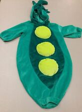 Pea Pod Costume Baby Infant BabyWorks Halloween One Size Green Vegetable Veggie