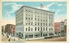 Y.M.C.A. Building Watertown New York Postcard 1921 Postmark