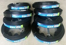 Lot of 8 Suncast No-Dig 20 ft. Black Resin Edging with L-Stakes, LCOIL20S NEW