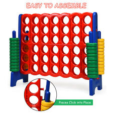 Jumbo 4-to-Score 4 in A Row Giant Game Set Kids Adults Family Fun Home Outdoor