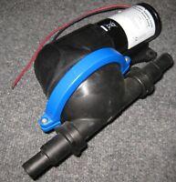Jabsco 50880 Shower Drain and Bilge Self Priming Fluid Transfer Pump - 24 V DC