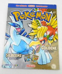 Pokemon der ofiizielle Nintendo Spielberater Silberne+Goldene Edition