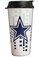 Brand New Dallas Cowboys Hype Travel Mug Coffee Cup 32 Ounces NFL