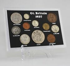 c.1937-46 George VI Coin Set/Collection - 11 Coin Set in Presentation Pack (KZ87