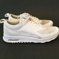 Nike Air Max Thea PRM Premium White Shoes Sneakers 616723 104 Womens Size US 9
