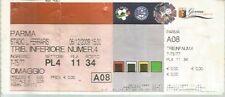 BIGLIETTO STADIO - GENOA - PARMA - BIGLIETTO OMAGGIO - STAGIONE 2009