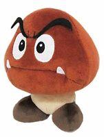 "Little Buddy Toys Nintendo Super Mario Goomba 6"" Plush USA Authentic Genuine"