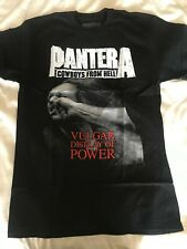 PANTERA - VULGAR DISPLAY OF POWER T-shirt Stronger Than ALL Bckprint Official