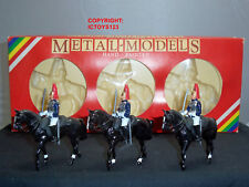 Britains 7229 Metal Models Three Mounted Ceremonial Horse Guards