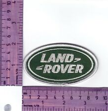 Land Rover Range Rover Oval  Heat Sealed Embroidered Cloth Patch..Badge