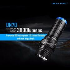 IMALENT DN70 XHP70 3800LM 26650 LED Flashlight Tactical Rechargeable Torch Lamp