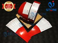 6/' Red DOT-C2 Conspicuity Reflective Tape Safety Warning Tractor Bike Car RV