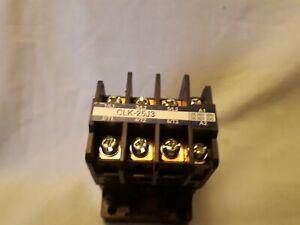 CLK-25J3 Togami Magnetic Contactor