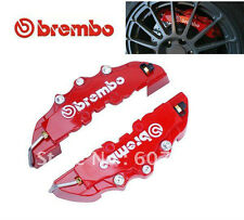 Universal Red Brembo Brake Caliper Covers for all 4 wheels