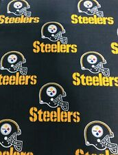NFL Pittsburgh Steelers Cotton Fabric 1/4 Yd 9 X 58 SHIPS TODAY