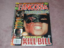 FANGORIA # 227, Kill Bill, Texas Chainsaw Massacre, Undead, Free Shipping USA