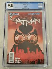 Batman #4 2nd Print CGC 9.8 1st Cameo Introduction Court of Owls New 52 2012