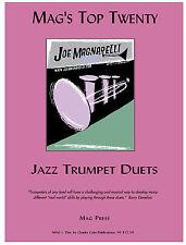 Joe Magnarelli's Top 20 (Adv) Jazz Duets ~ dist. by Colin Publications