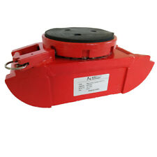 Machinery Skates 8000 Lbs Swivel Rubber Pad Top Plate with a locking mechanism