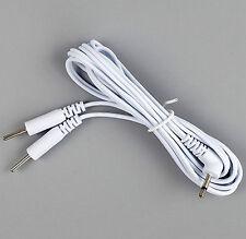 2in1 Reizstrom Elektroden Kabel 3,5mm (Pin) | EMS / TENS / E-STIM / ESTIM