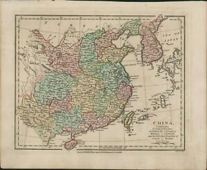 1809 Map CHINA Robert Wilkinson Hainan Formosa Korea   B11.26