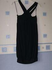 LADIES  SHORT DRESS/TUNIC  SIZE 8 BLACK  *NEXT*
