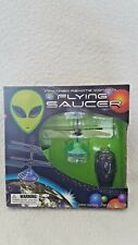 Alien infrared remote control flying saucer