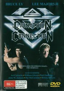 CHINATOWN CONNECTION (DVD, 1990) Bruce Ly - Lee Majors - Rare OOP Movie
