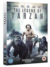 THE LEGEND OF TARZAN ALEXANDER SKARSGARD WARNER UK 2016 REG2 DVD & UV NEW SEALED