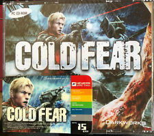 NEW*SEALED PC GAME COLD FEAR (PC) (3CDS.) BRAND NEW FACTORY SEALED