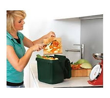 7 litre Internal Food Waste Kitchen Caddy With 3 x Rolls Compostable Liners (75)