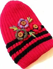 Stylish Ladies Knitted Woolly Winter Oversized Slouch Beanie Hat Cap