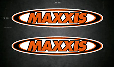 MAXXIS Stickers/Decals - 2 x 200mm x 42mm Karting - Go-Kart