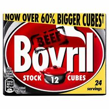 Bovril Beef Stock Cubes 12 x 10g - Sold Worldwide from UK