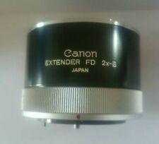 CANON EXTENDER FD 2X-B teleconverter