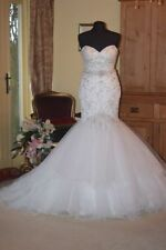 Ronald Joyce Mermaid & Trumpet Lace Sleeve Wedding Dresses