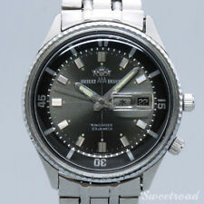 Orient AAA Deluxe Ref.O-10509 King Diver 1960s Automatic Auth Mens Watch Works
