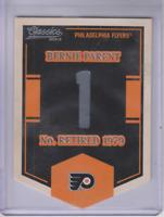 2012-13 Classics Signatures Banner Numbers #8 Bernie Parent SP - NM-MT