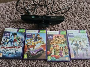 Official Xbox 360 Kinect pluss 5 games