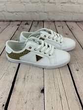 Guess Los  Angeles Women's white sneakers Size 5.5 New