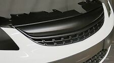 VAUXHALL CORSA D 2011-2014 (facelift) BLACK DE-BADGED SPORTS GRILLE NEW TO UK