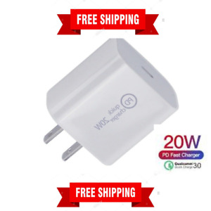Type-C 18W Power Block Adapter/Charger For Apple iPhone 12 iPhone Fast Charging