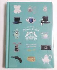 Black Butler Funtom Black Label A6 Notebook Hard Cover Square Enix Toboso Yana