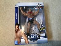 Wwe signed autographed rusev elite 34 toy wrestling mattel figure new boxed
